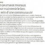 Le Monde ル・モンド紙掲載